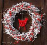 christmas wreath by farsz