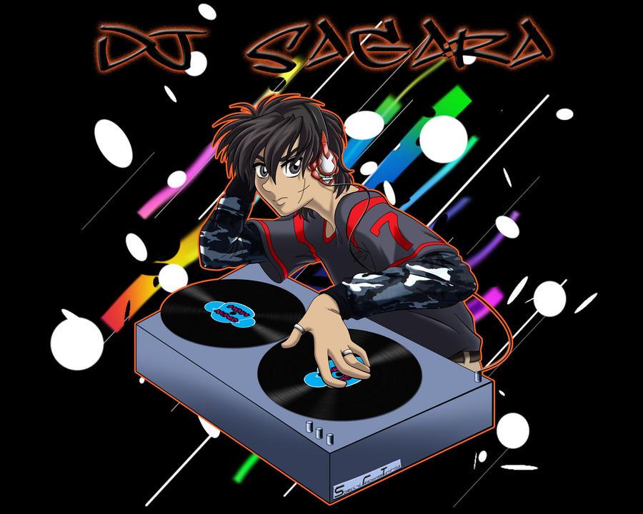 DJ Sagara by Tsaritza-Mika