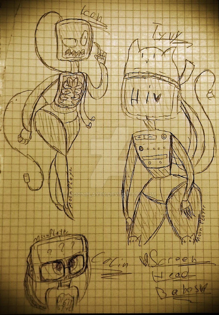 Some Doodles I made cuz Reasons by MoonPlayer