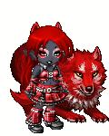 red-wolf girl gaia avatar by pixelchixx
