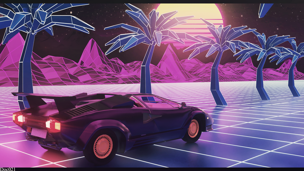 Synthwave by Doc021 on DeviantArt