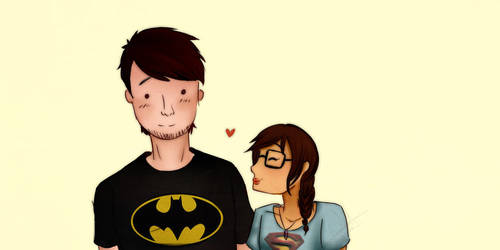 My personal batman by BlueNekox3