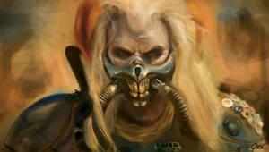 Commission: Immortan Joe by Akkiada