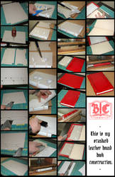 Standard Leather Bound Book Construction by BCcreativity