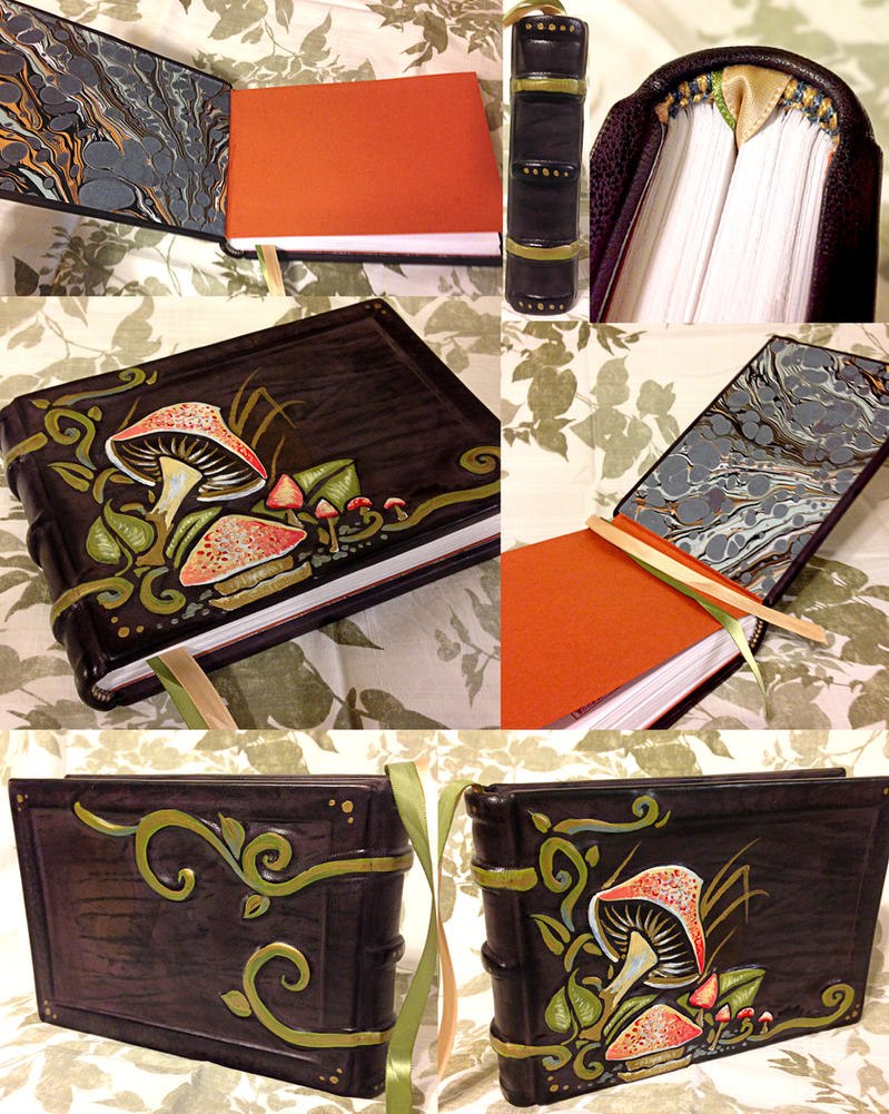 Fall Mushroom Journal by BCcreativity