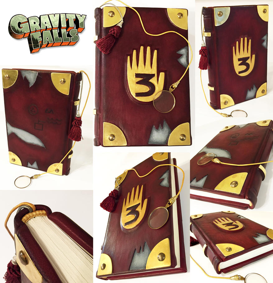 How To Make A Realistic Book Cover ~ Gravity falls journal by bccreativity on deviantart