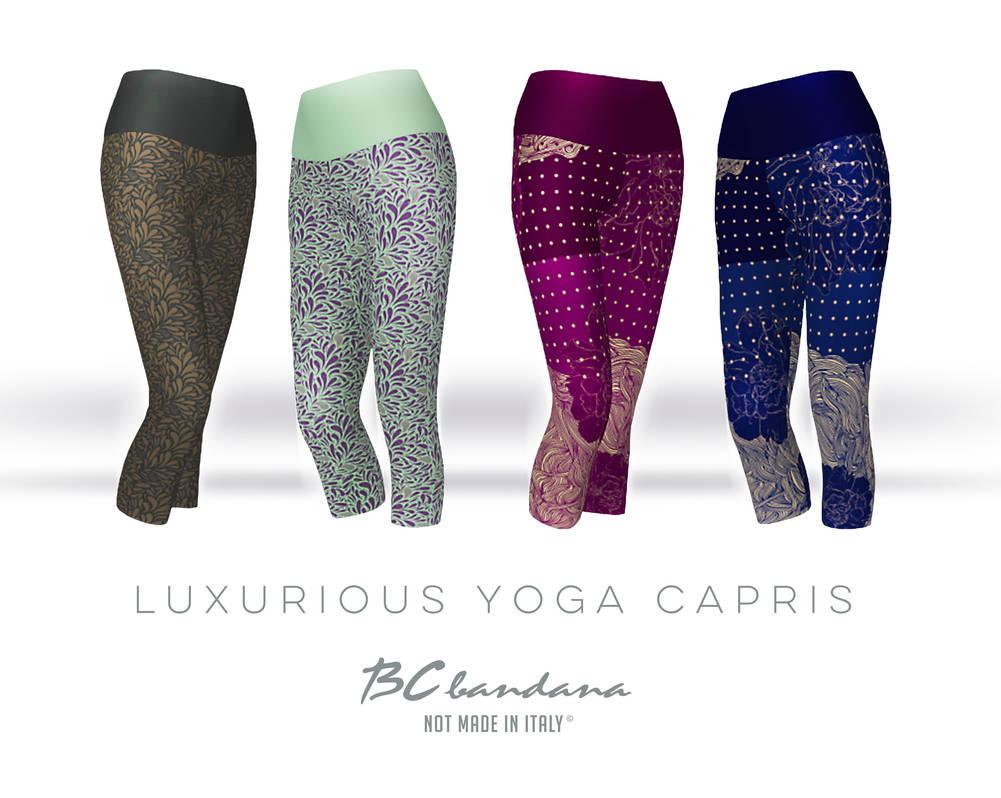 Yoga-capris by BCcreativity