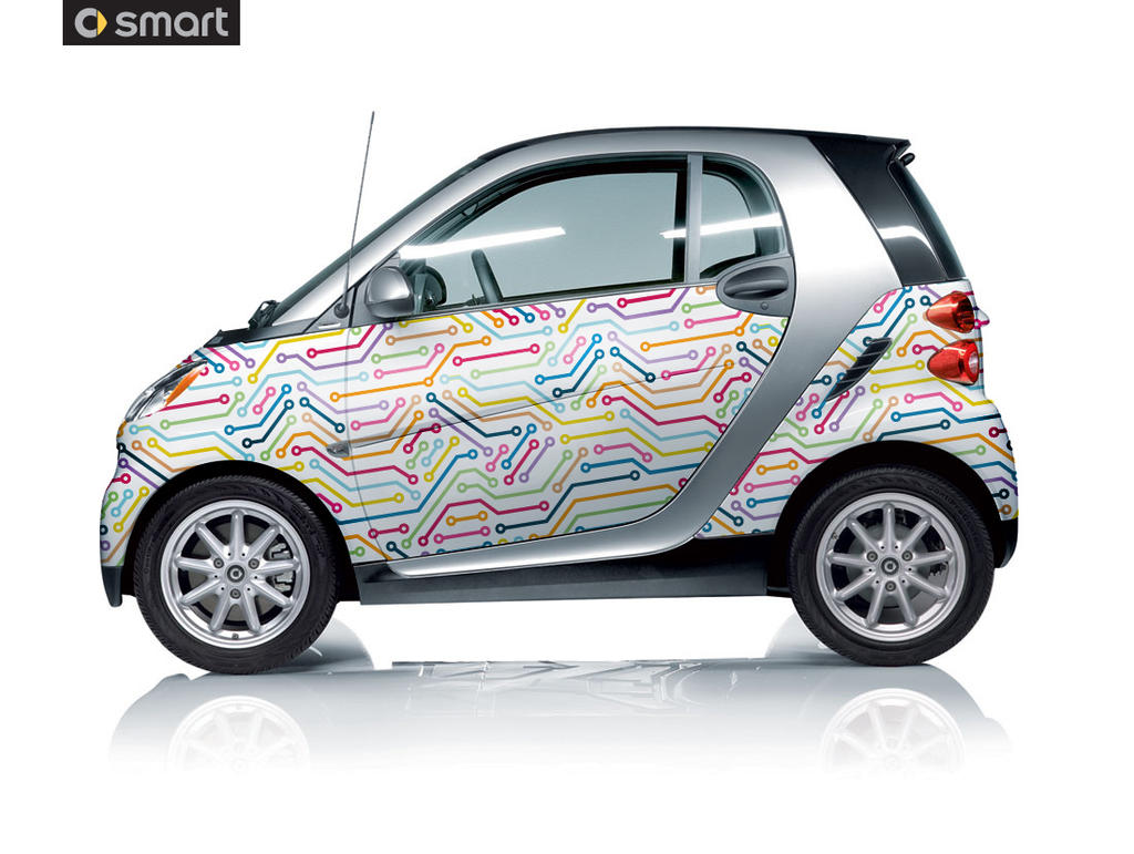 Swift car sticker designs - Robcis 0 0 Smart Car Vinyl 1st Edition By Robcis