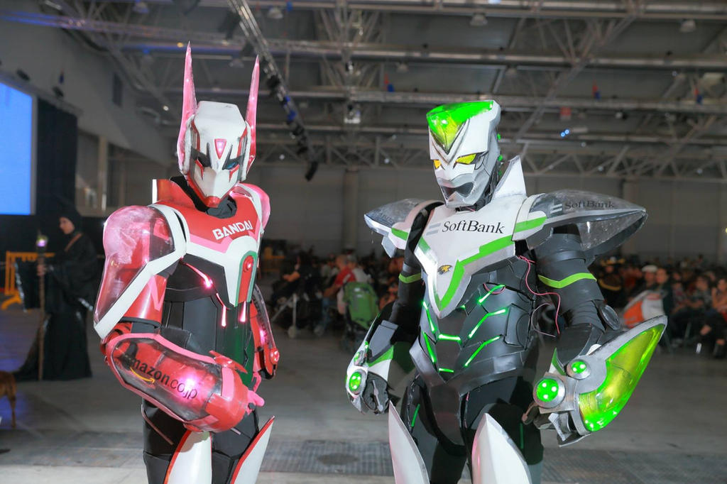 Tiger and Bunny - Romics2014 I by SilviaArts