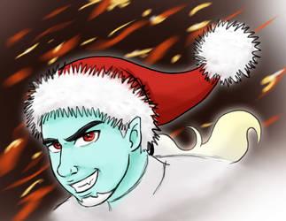 Christmas Dan by AsjJohnson