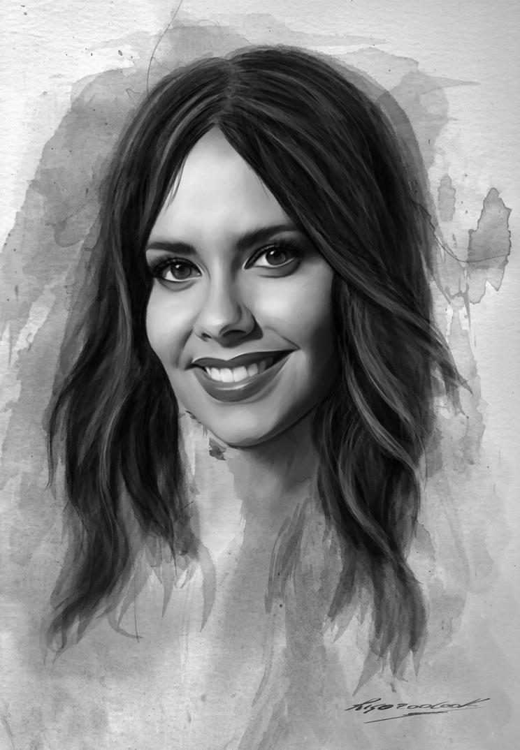 Cristina Pedroche by Rigozoolook