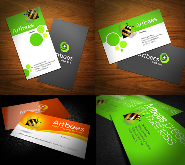 Foreign Creative Business Cards Designs PSD By Facegfx
