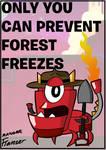 Mxls-Ranger Flamzer Forest Freezes Poster