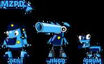 MxlsOCs - Series 2 MZPD