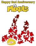 Mxls - Happy 2nd Anniversary Mixels
