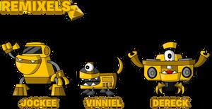 MxlsOCs - Series 7 Remixels