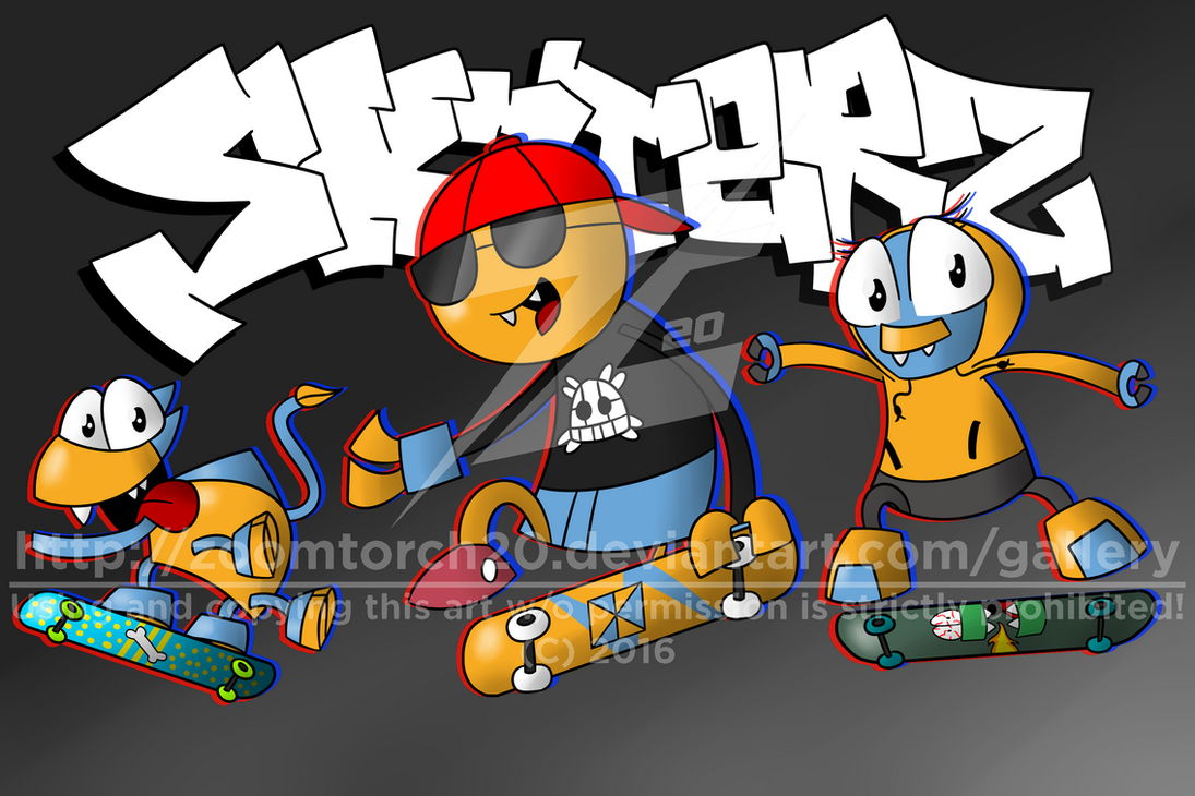 [AT] Mxls - The Skaterz (Dexter) by ZoomTorch20
