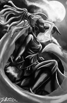 Dancing Goddess of the night