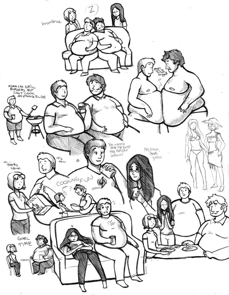 Xavier ilene doodles ix by brokencassette on deviantart for Cute sketches for your girlfriend