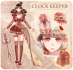 [CLOSED] Clock Keeper Adoptable AUCTION #7