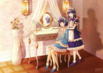 The dressing room by Black-Quose