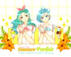 Sailor Summer Parfait by Black-Quose