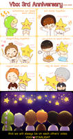 Vixx 3rd Anniversary by Black-Quose