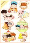 Vixx + Dessert Sticker