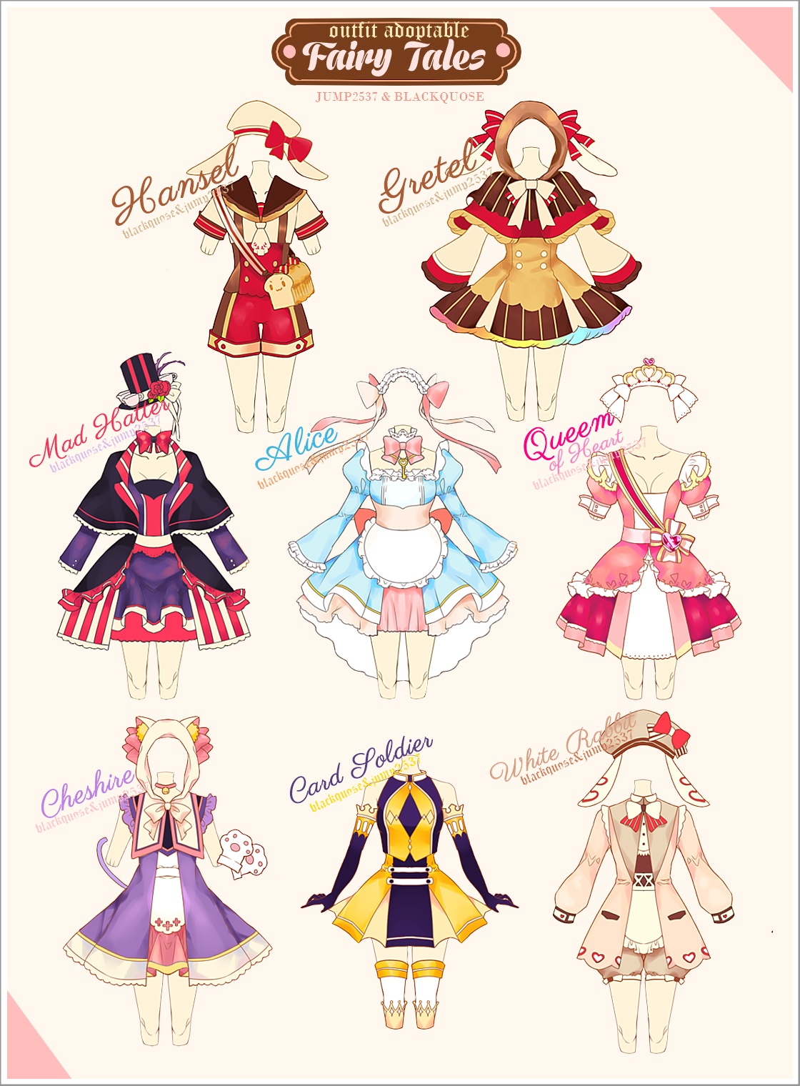 Fairy Tales Outfit Adoptable 10
