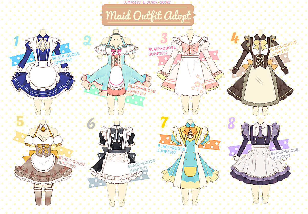 Maid Outfit Adoptable 11