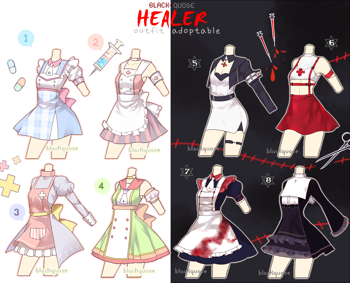 Healer Outfit Adoptable 14