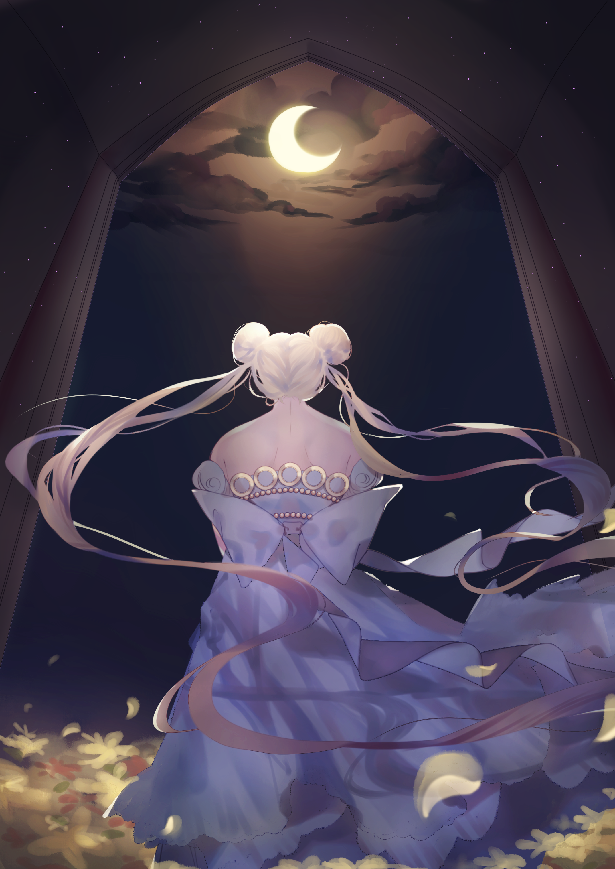 The Story of The Moon by Black-Quose