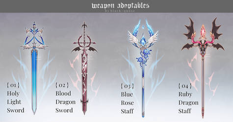 [closed] Weapon Adoptable | Set Price by Black-Quose
