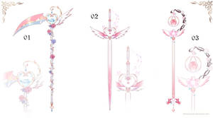 [closed] Magical Girl Weapon Adopt | set price