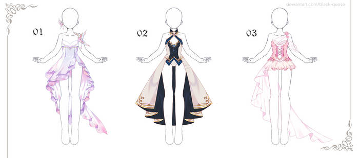 [closed] Outfit Adoptable #11 | Set Price