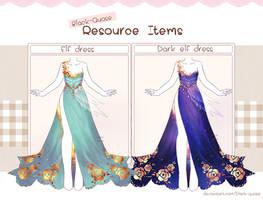 Item 02 : Elf and Dark Elf Dress