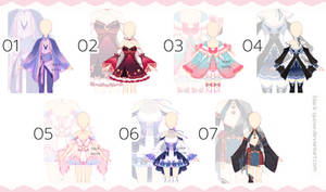 [closed] Outfit Adopts #30   set price