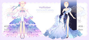 [closed] Halftober Outfit Adopts   auction