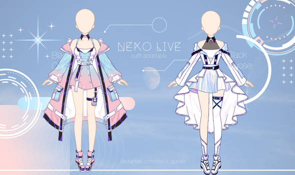 [closed] Neko Live #2 outfit adopts l auction