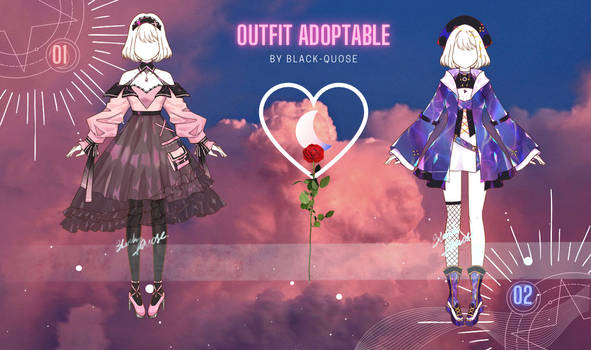 [Closed] Sweet Outfit Adopts | auction
