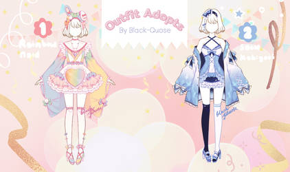 [Closed] Sweet Outfit Adoptable I auction