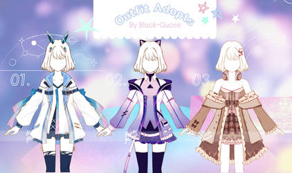 [Closed] Outfit Adopts #39 | set price