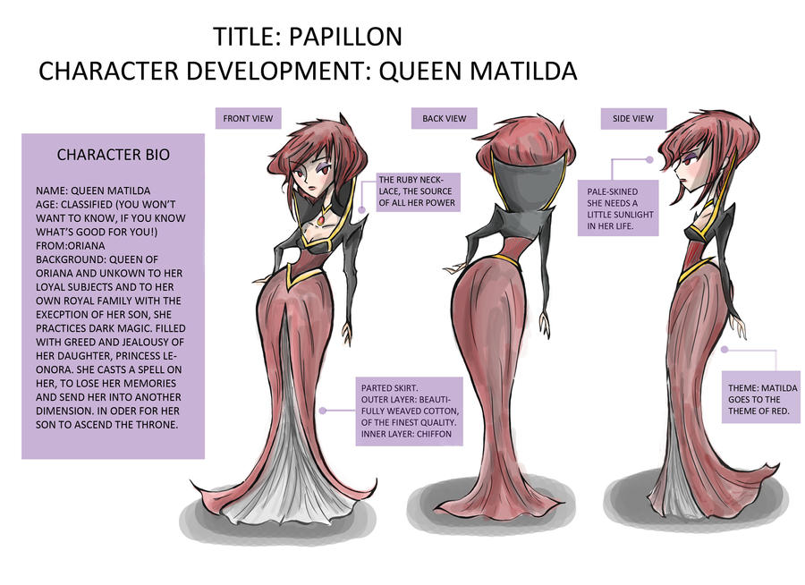 Papillon- Queen Matilda by Violet1202