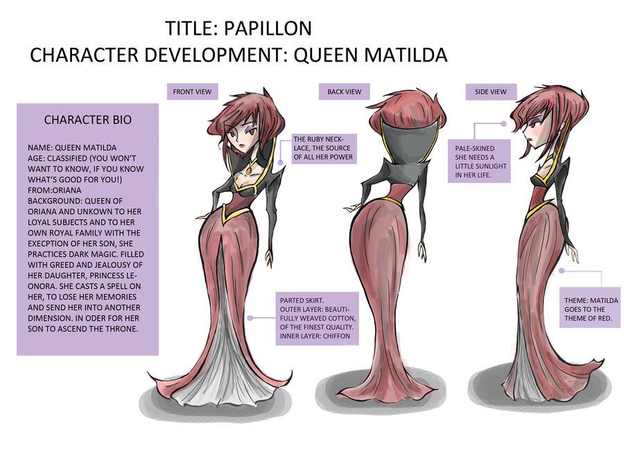 Papillon- Queen Matilda by Violet1202