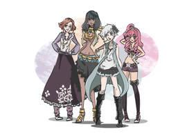 Ladies of Virtue's Last Reward by Violet1202