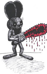 Inky With Chainsaw