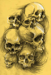 skulls examples by masshi128