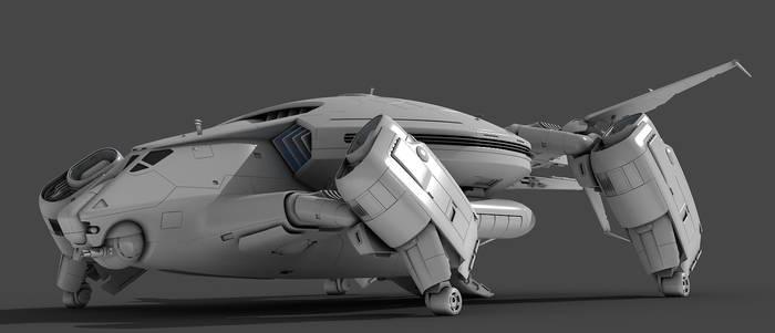 TURTLE Transport ship