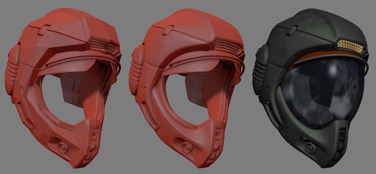 Pilot helmet by NovA29R