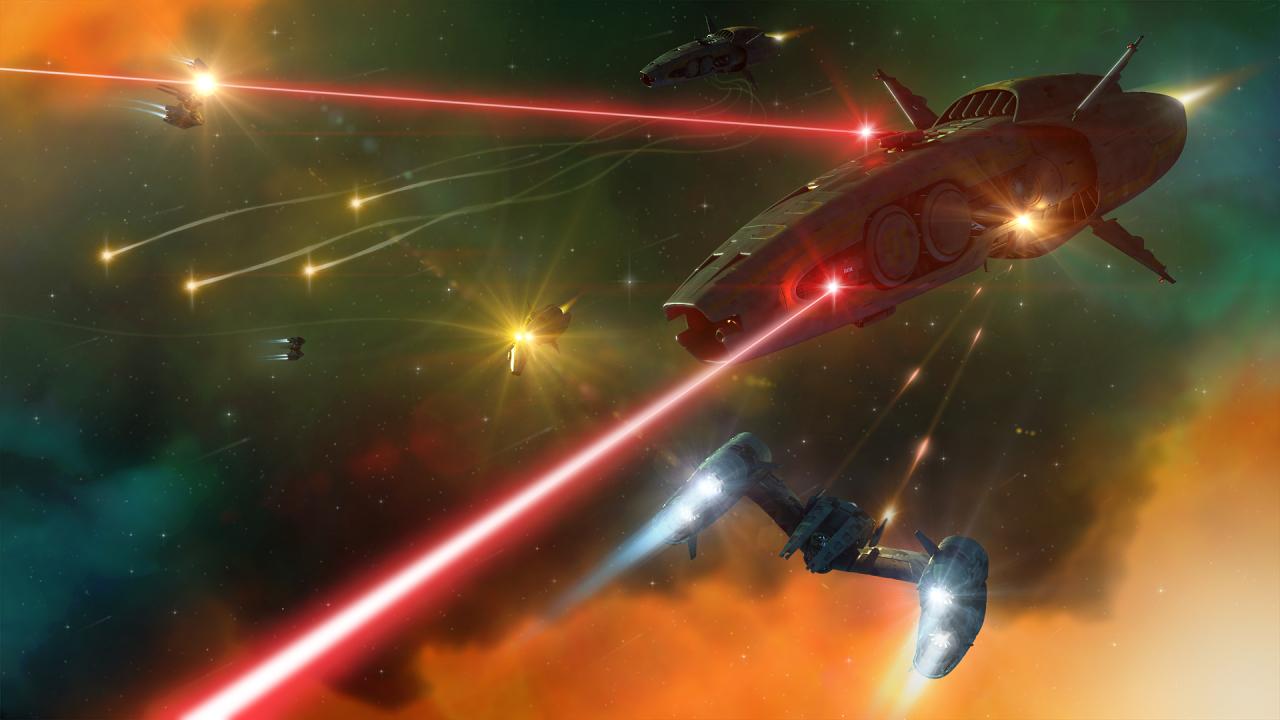 Space battle concept. by NovA29R